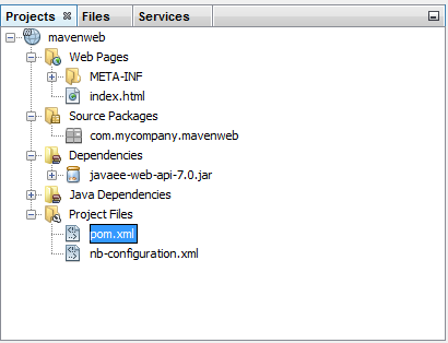 How to Create Web Application using Maven and Netbeans