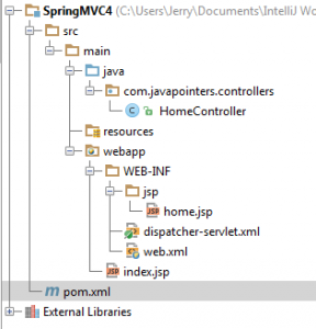 spring mvc project